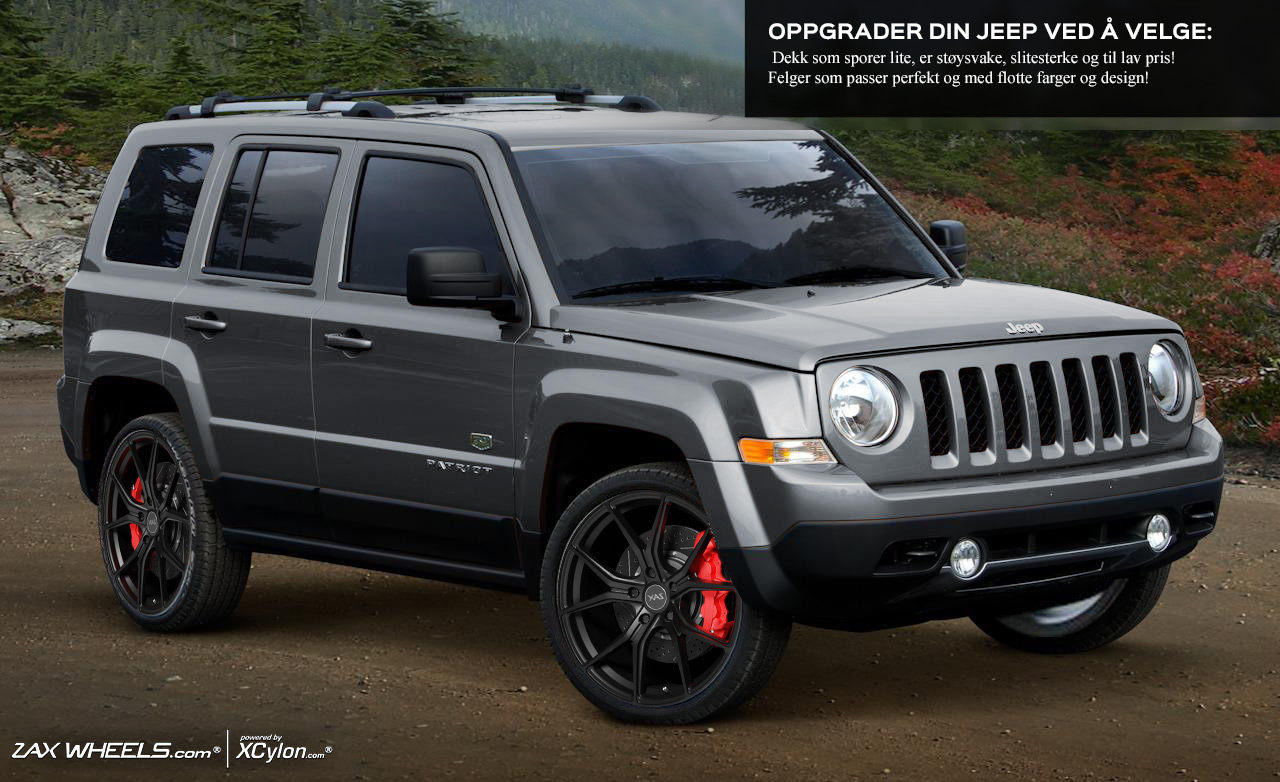 Rims and tires for Jeep Patriot :: 07 11 | Megahjul